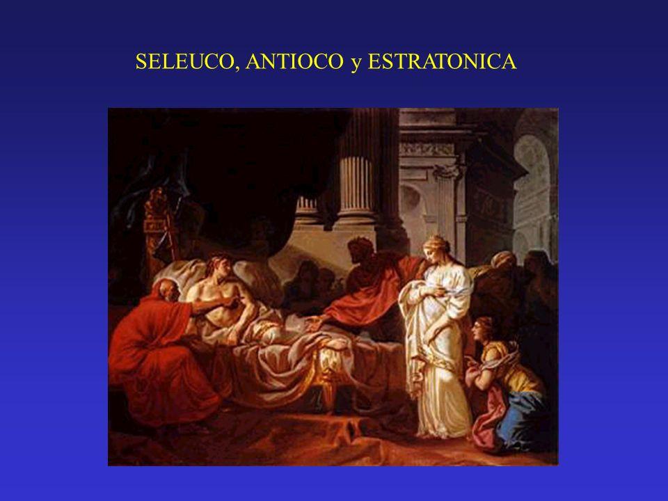 SELEUCO, ANTIOCO y ESTRATONICA