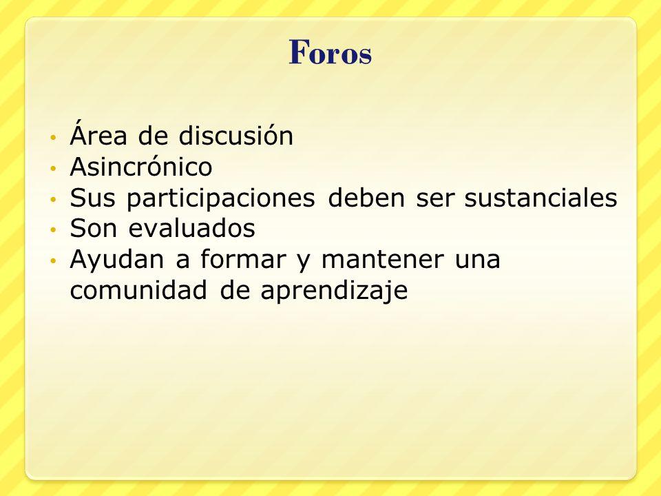 Uso del foro 1.Pulsar sobre Discussion Forum #1 2.