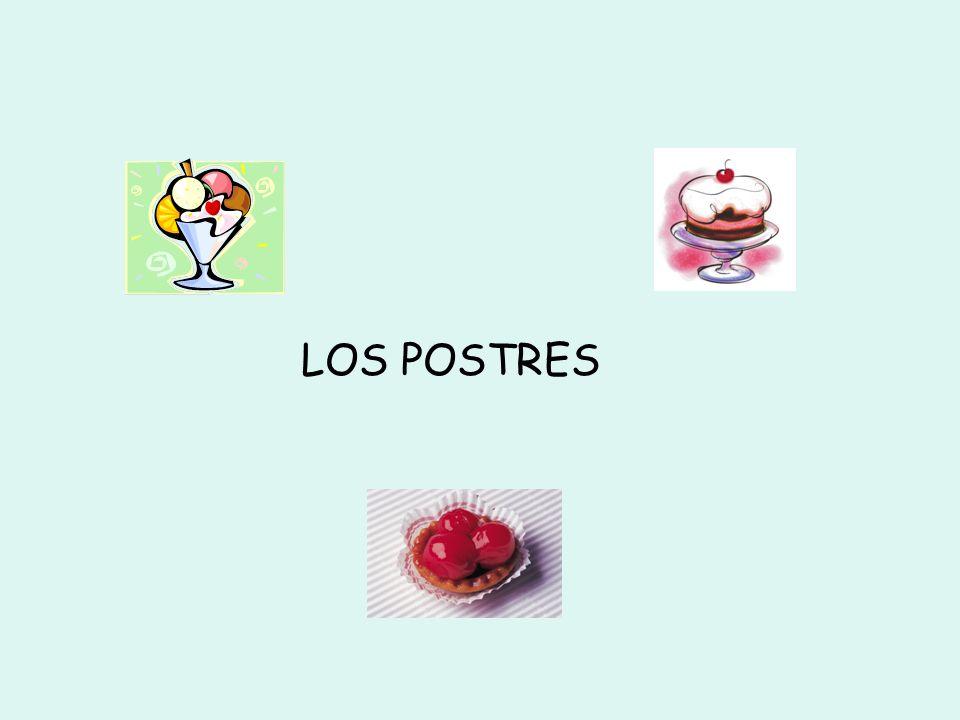 LOS POSTRES
