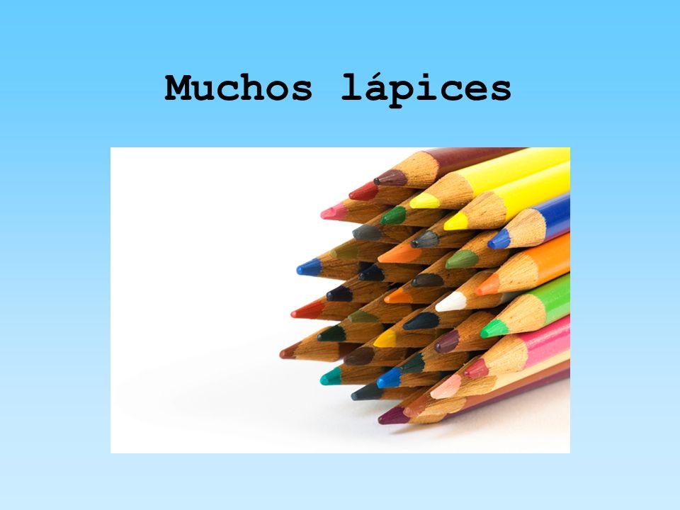 Muchos lápices
