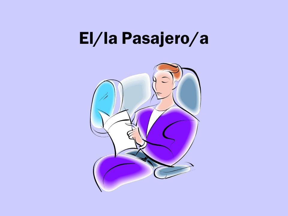 El/la Pasajero/a