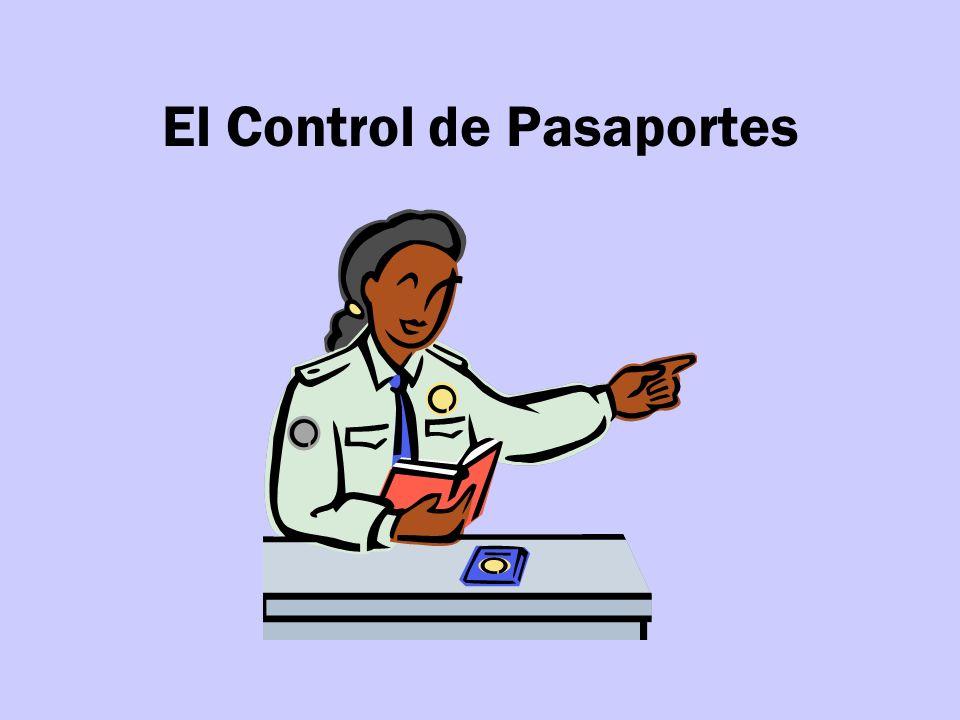 El Control de Pasaportes