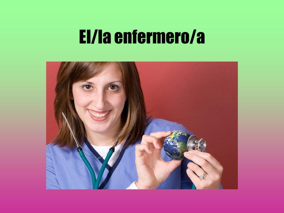 El/la enfermero/a