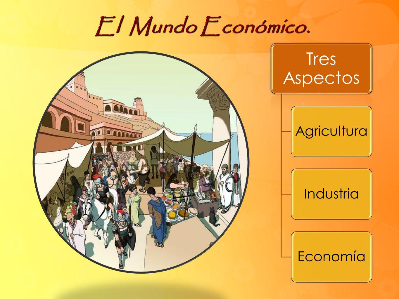 El Mundo Económico. Tres Aspectos AgriculturaIndustriaEconomía