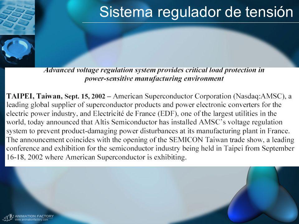 Sistema regulador de tensión
