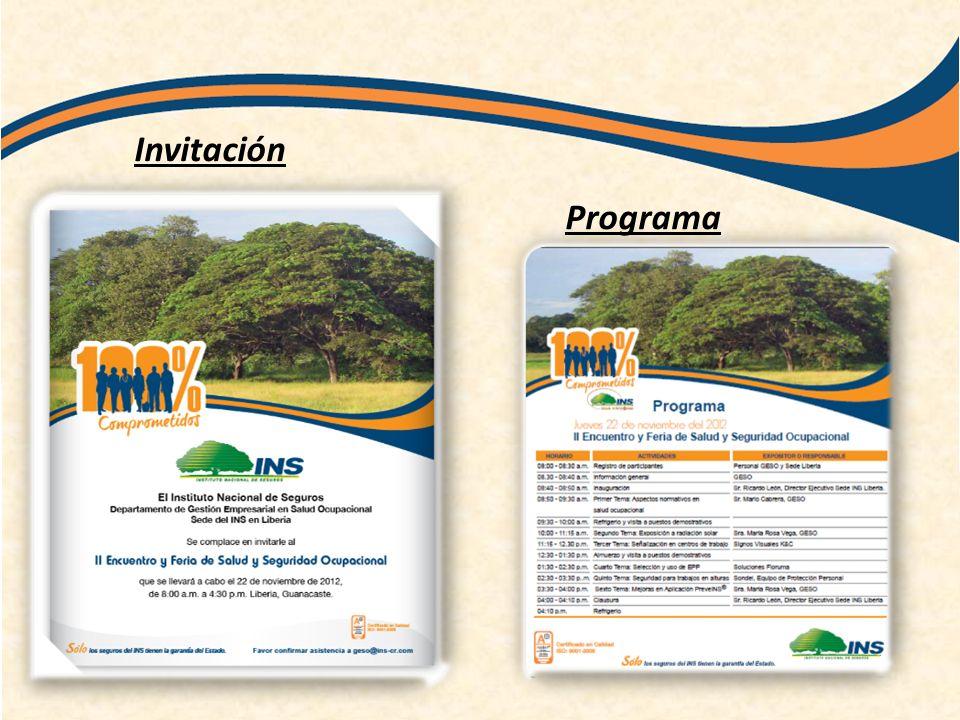 Invitación Programa