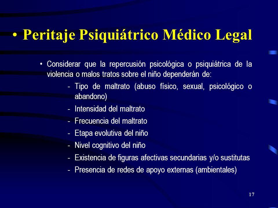 16 Diagnóstico de maltrato: En lesiones físicas por agresiones directas (golpes, quemaduras, etc.) o indirectas (sacudida, zamorreo o