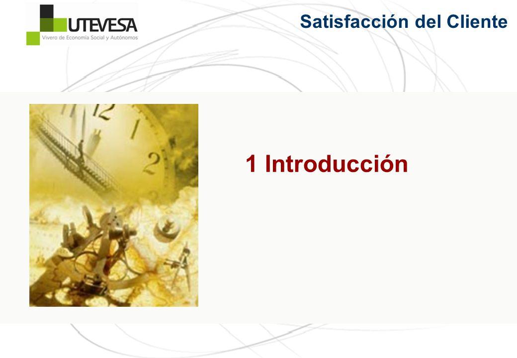 1 Introducción Satisfacción del Cliente