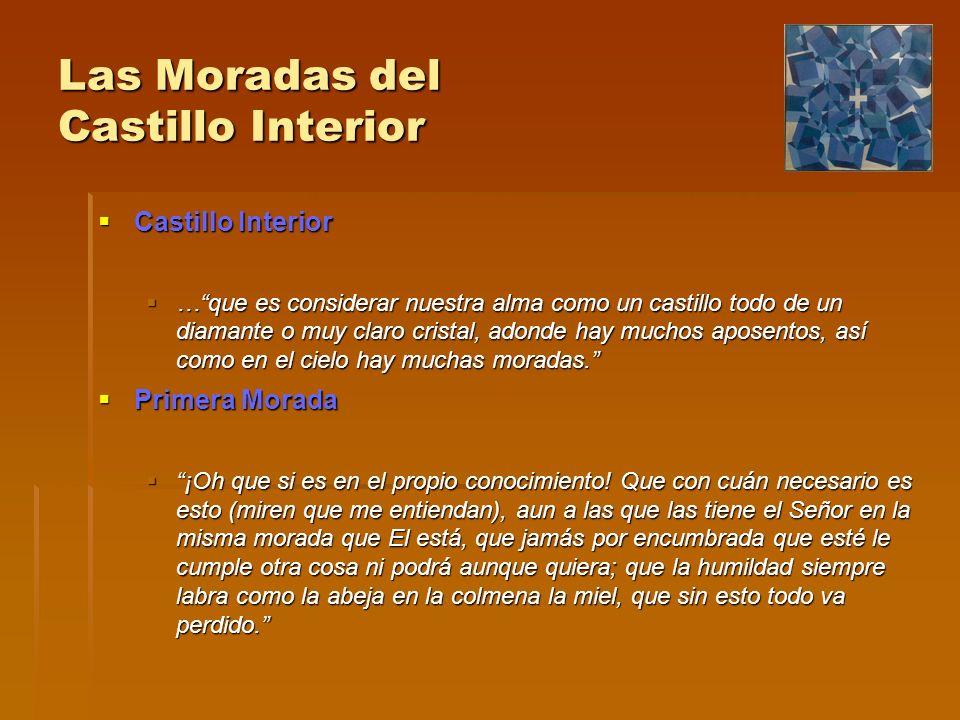 Las Moradas del Castillo Interior Castillo Interior Castillo Interior …que es considerar nuestra alma como un castillo todo de un diamante o muy claro