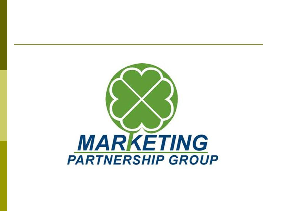 Presentación Marketing Partnership Group trabaja en el área de mercadotecnia desde 1992.