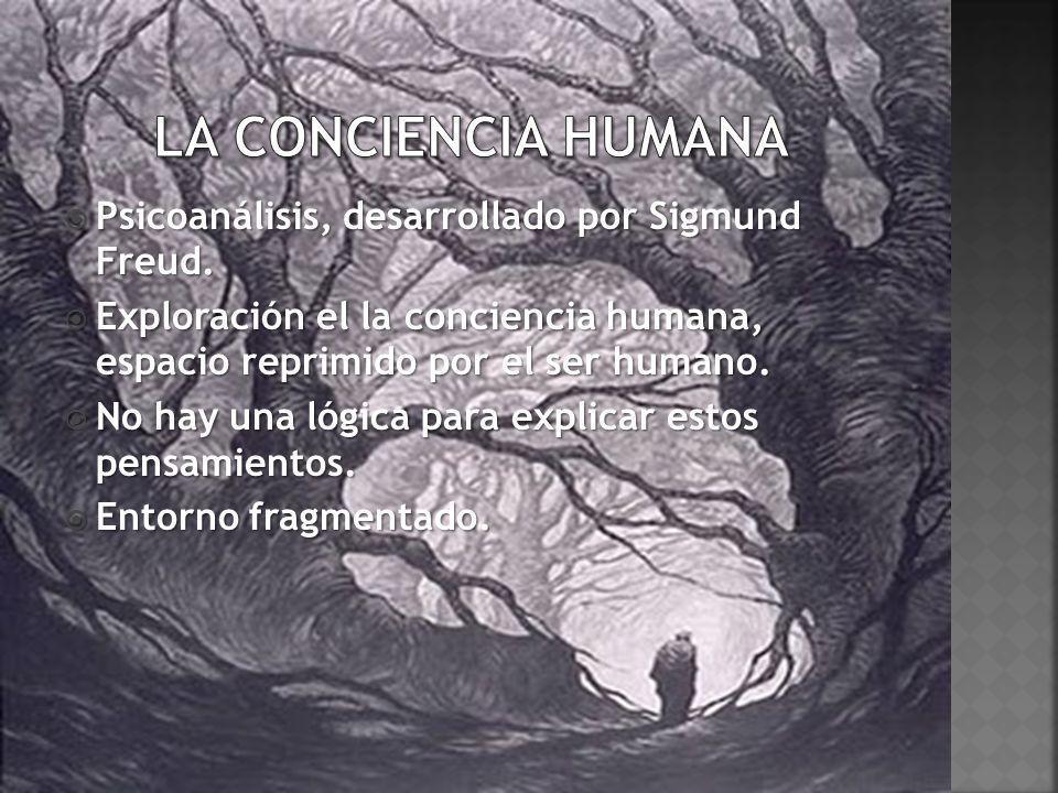 Psicoanálisis, desarrollado por Sigmund Freud. Psicoanálisis, desarrollado por Sigmund Freud. Exploración el la conciencia humana, espacio reprimido p