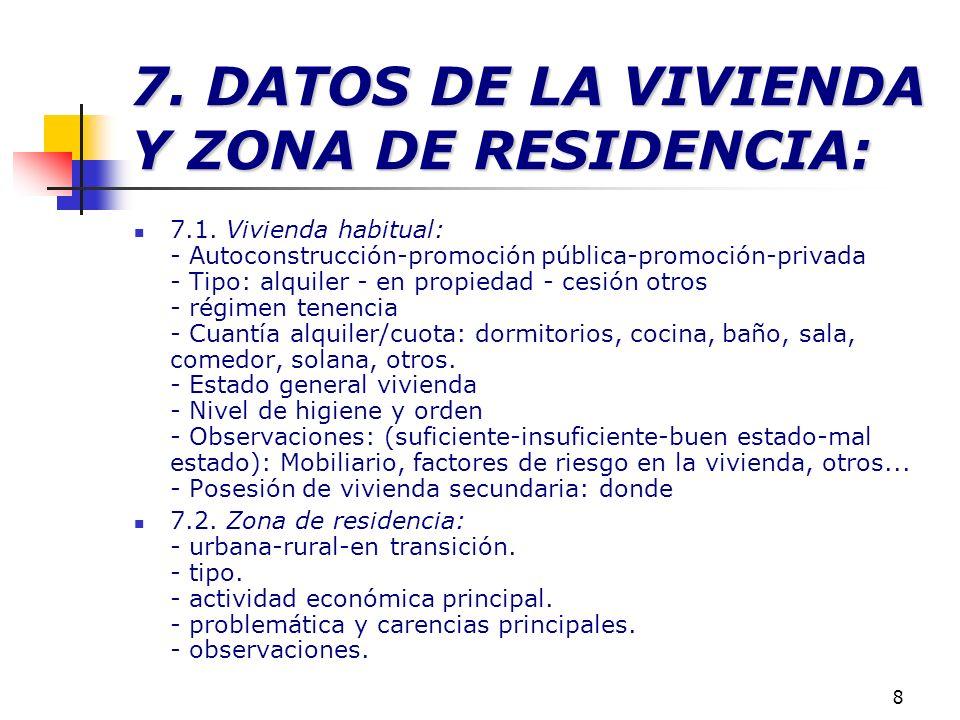9 8.RELACIONES SOCIALES DE LA FAMILIA 8. RELACIONES SOCIALES DE LA FAMILIA.