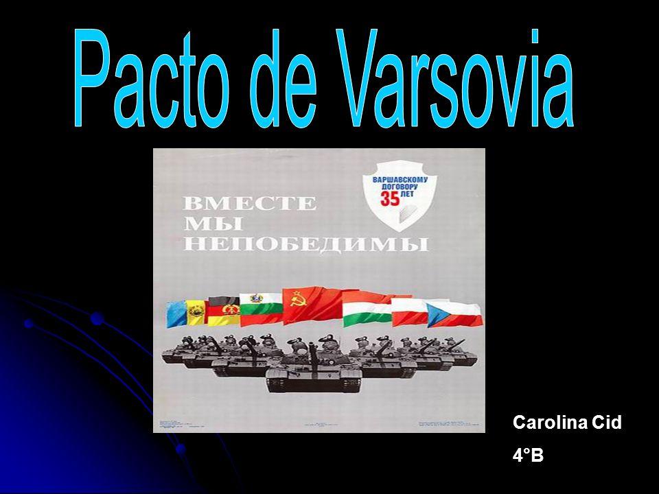 El pacto de Varsovia fue sumamente importante para la consolidación del bloque del este, que en si es la oficialización del hemisferio comunista mundial de la época.