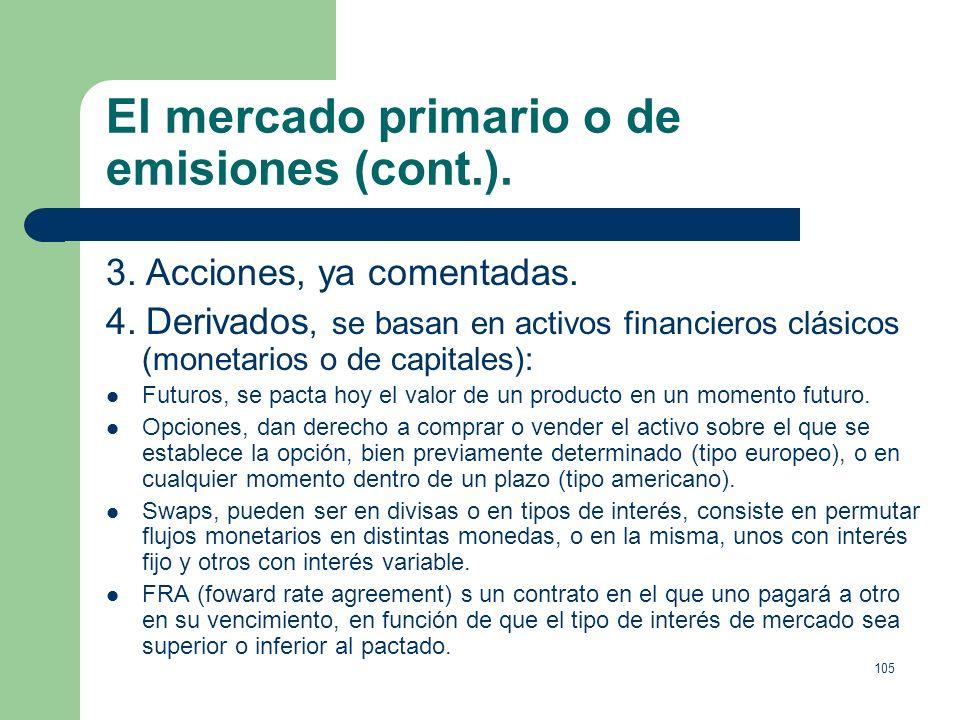 104 Tipos de obligaciones. Hipotecarias, tienen la garantía de uno o varios inmuebles. Convertibles, pueden convertirse a elección del suscriptor en a