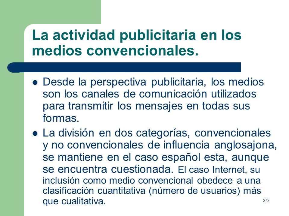 271 Tema 11. La comunicación empresarial (3). Universidad Rey Juan Carlos. Sistemas y Procesos de la publicidad y de las rr.pp. Antonio Baraybar Ferná
