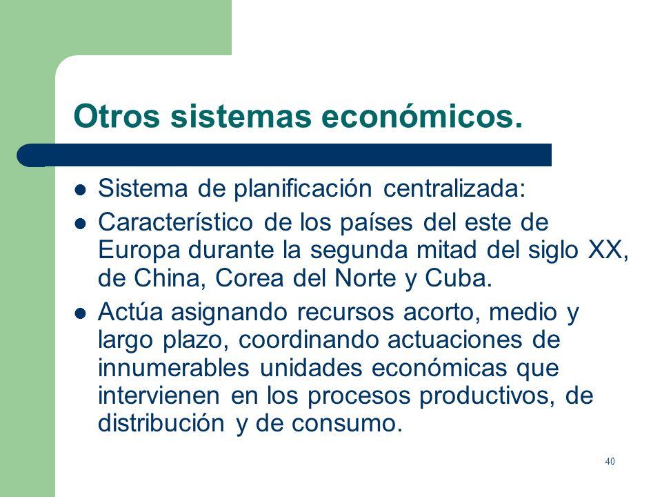 39 El dinero: la política monetaria. El crédito se utiliza como sustitutivo del dinero. El crédito produce el conocido como: efecto multiplicador del
