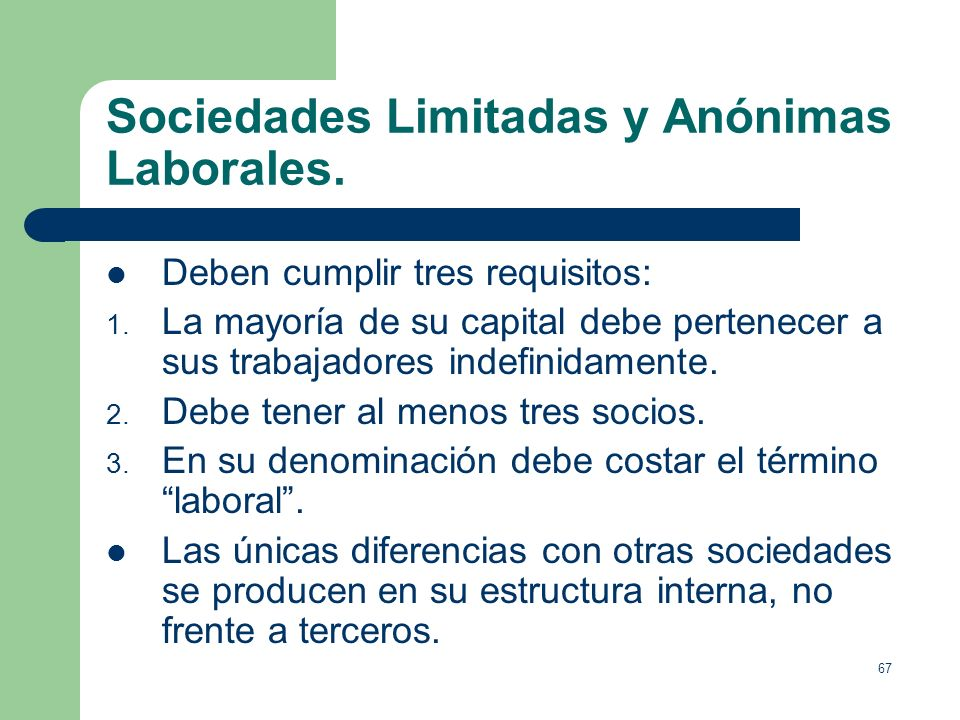 66 La constitución de las Sociedades Anónimas. Se pueden aportar bienes valorables económicamente por un experto designado por el Registrador Mercanti