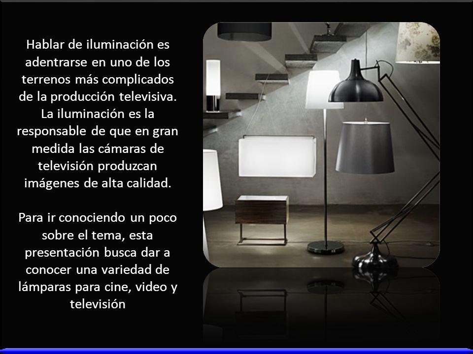 Hablar de iluminación es adentrarse en uno de los terrenos más complicados de la producción televisiva. La iluminación es la responsable de que en gra