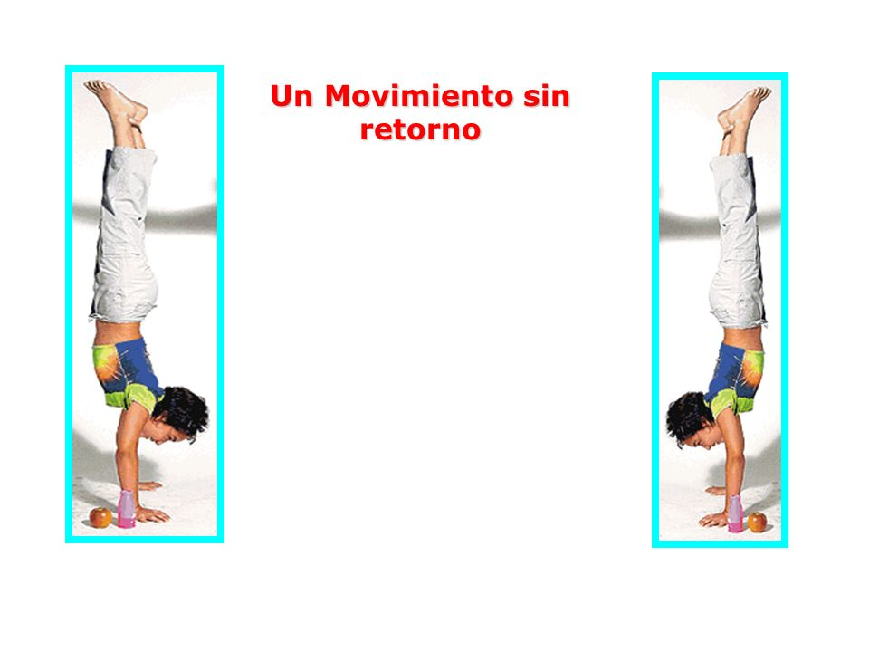 Un Movimiento sin retorno Gracias al peristaltismo, el alimento siempre avanza hacia abajo, por eso puede ir por los pliegues de los intestinos aún si