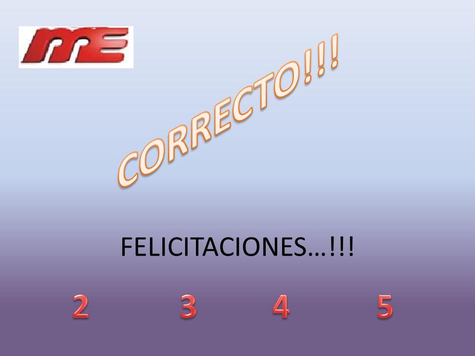 FELICITACIONES…!!!