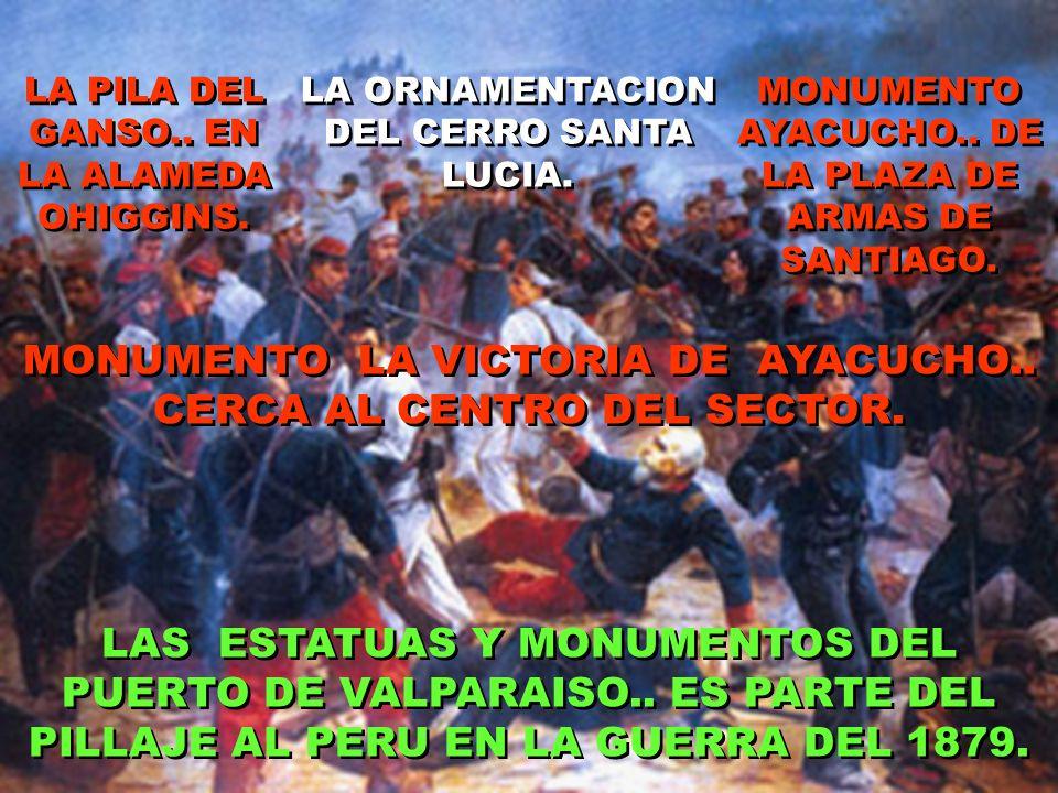 DESTRUYERON LOS LABORATORIOS Y ROBARON EL INSTRUMENTAL DE LAS UNIVERSIDADES DE LIMA. SAQUEARON E INCENDIARON PALACIO DE GOBIERNO. LA ESTELA CHAVIN DE