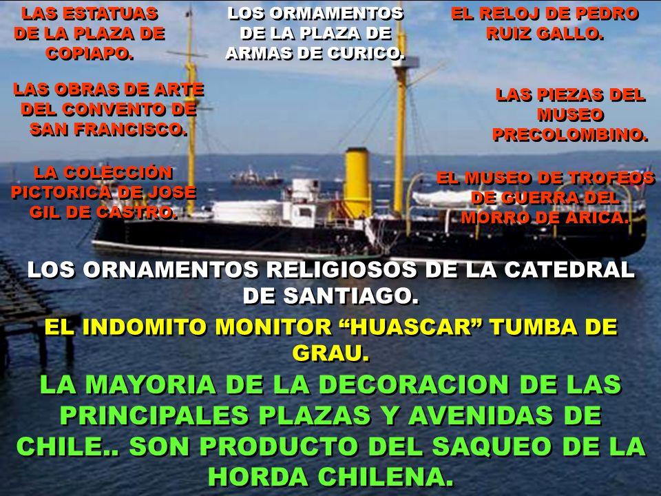 LA PILA DEL GANSO.. EN LA ALAMEDA OHIGGINS. LA ORNAMENTACION DEL CERRO SANTA LUCIA. MONUMENTO AYACUCHO.. DE LA PLAZA DE ARMAS DE SANTIAGO. MONUMENTO L