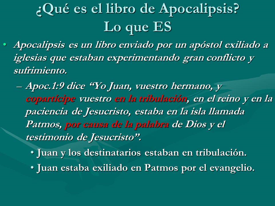 ¿Qué es el libro de Apocalipsis.
