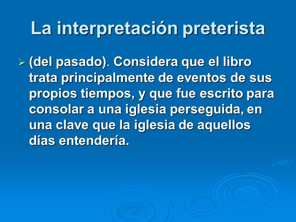Hay tres clases o escuelas de intérpretes En términos generales, hay tres clases o escuelas de intérpretes y en todas ellas hay eruditos capaces y piadosos con grandes variantes dentro de cada una.