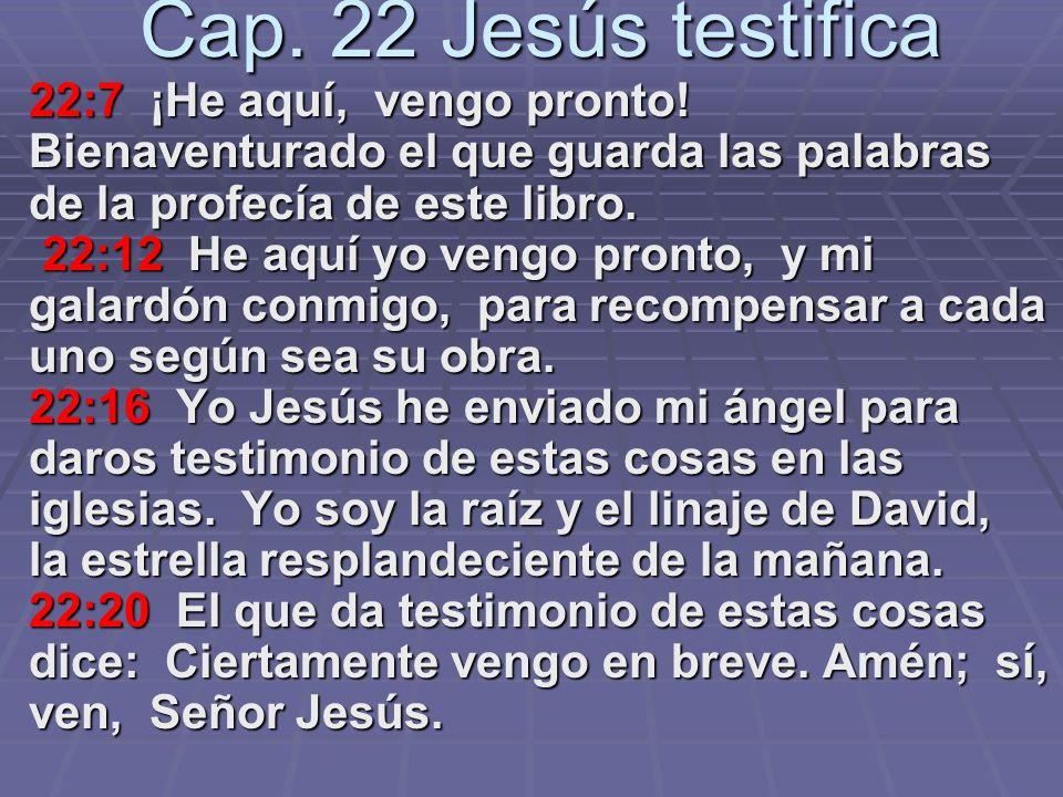 La nueva Jerusalén Cap. 21:1