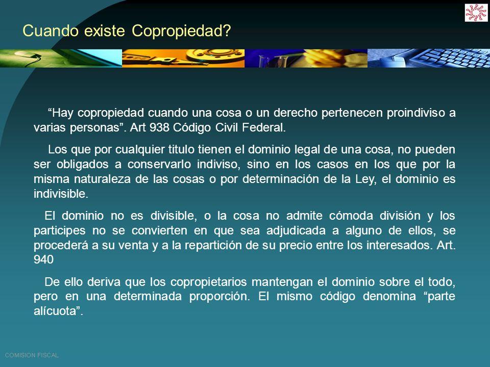 Derechos de los copropietarios.