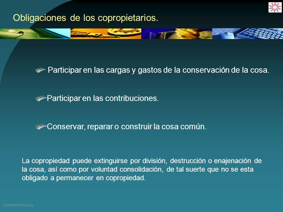 COPROPIEDAD Y SOCIEDAD CONYUGAL IVA IMPAC IETU CFF ISR PARTE FISCAL