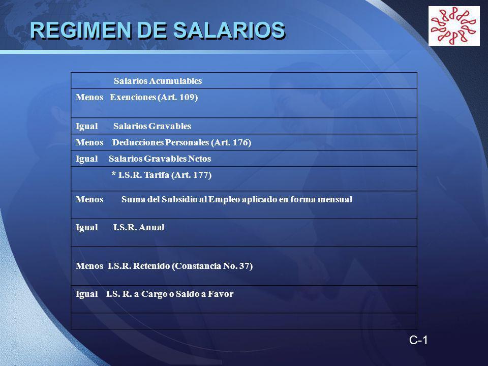LOGO Salarios Acumulables Menos Exenciones (Art.