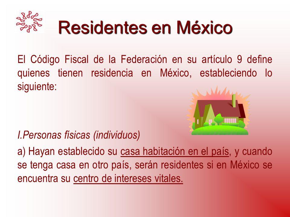 RE fuente de riqueza ubicada en México RE fuente de riqueza ubicada en México Servicios personales subordinados.