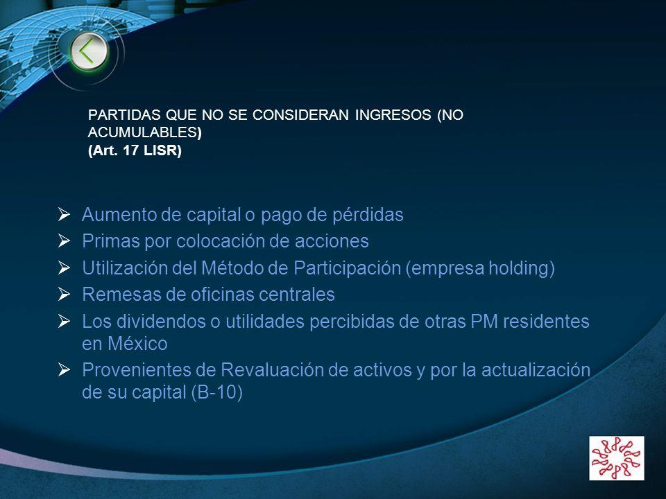 LOGO www.themegallery.com Ejemplo de Créditos Bancos Depósitos en garantía Cuentas por cobrar ISR saldo a favor de ejercicios anteriores