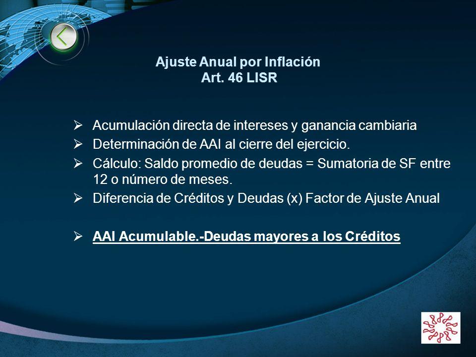 LOGO Periodos por los que no se paga IMPAC INICIO DE OPERACIONES Constitución 1 mayo 2003.