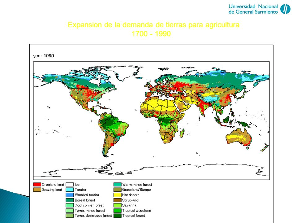 Biomass in Future Landscapes Sustainable Use of Biomass and Spatial Development Argentina Argentina is the 7th country of the world Position: 200 in Inhabitants/Km2 Climate: Is predominantly temperate with extremes ranging from subtropical in the north to subpolar in the far south.