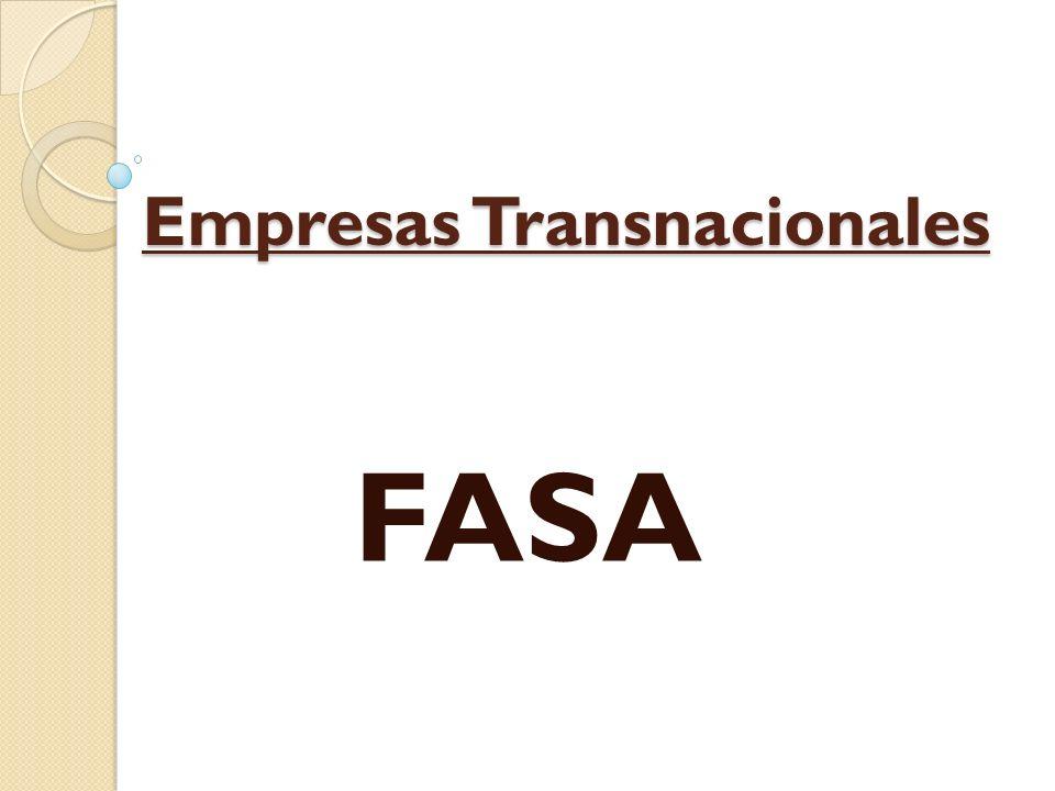 Empresas Transnacionales FASA