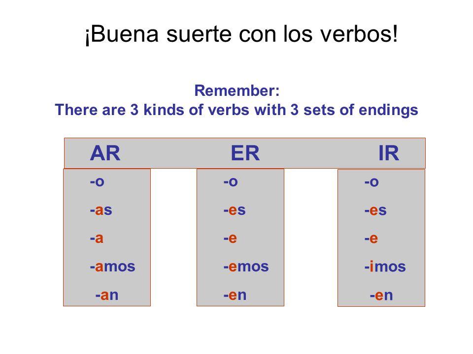 ¡Buena suerte con los verbos.