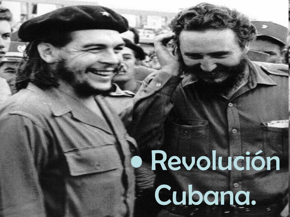 Causas que Originan el movimiento: Llegada al poder del ejercito rebelde.