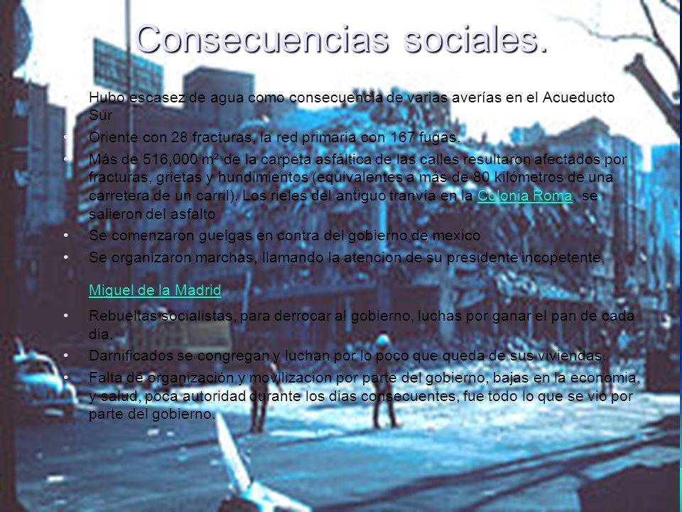 Cuando los ciudadanos tomaron la ciudad en sus manos La destrucción que provocó el terremoto de 1985 cambió la fisonomía y la vida de la ciudad de México.