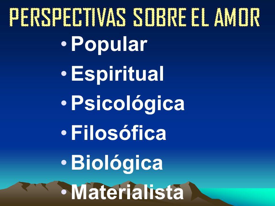 Popular Espiritual Psicológica Filosófica Biológica Materialista