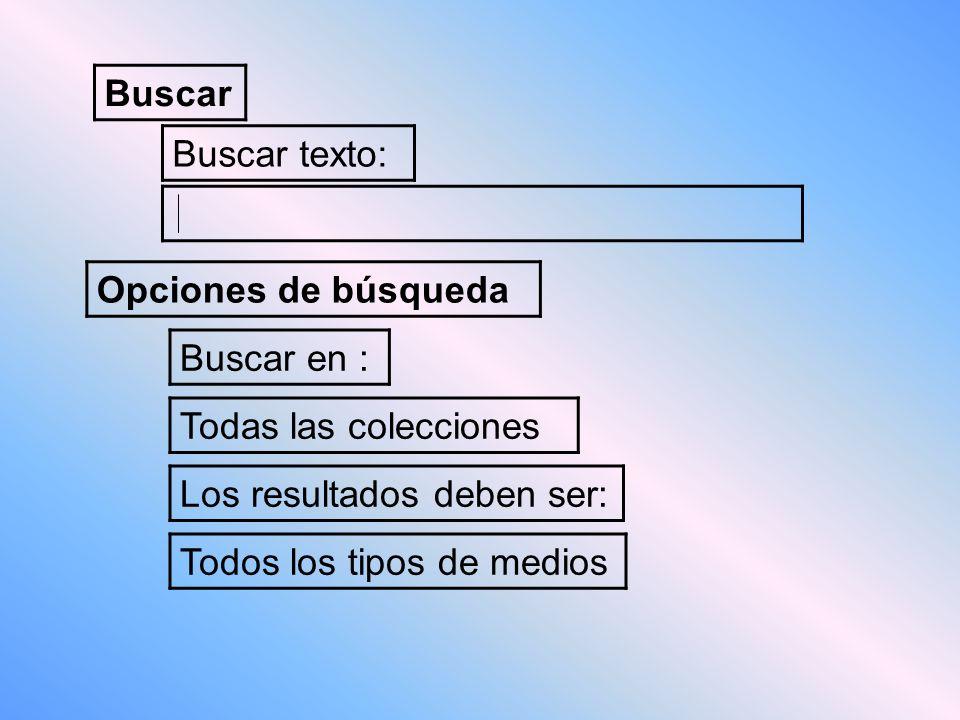 Buscar Buscar texto: Opciones de búsqueda Buscar en : Todas las colecciones Los resultados deben ser: Todos los tipos de medios