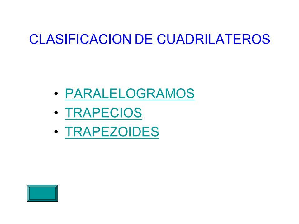 CLASIFICACION DE CUADRILATEROS PARALELOGRAMOS TRAPECIOS TRAPEZOIDES
