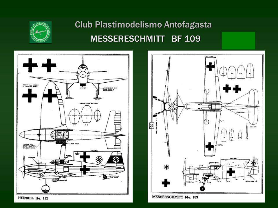 Club Plastimodelismo Antofagasta MESSERESCHMITT BF 109