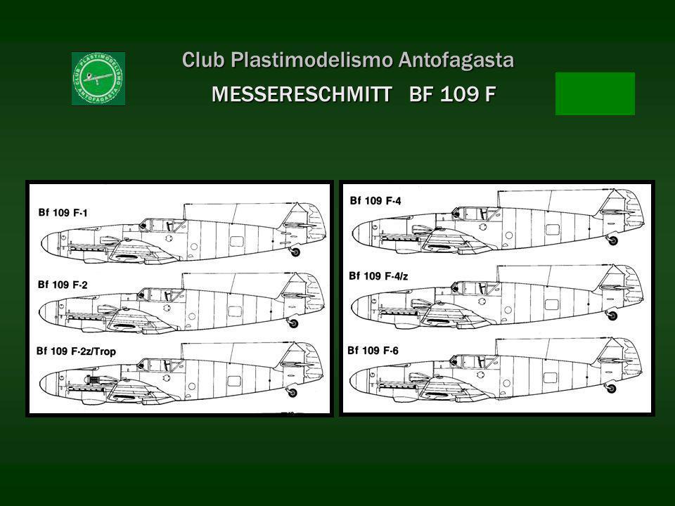 Club Plastimodelismo Antofagasta MESSERESCHMITT BF 109 F