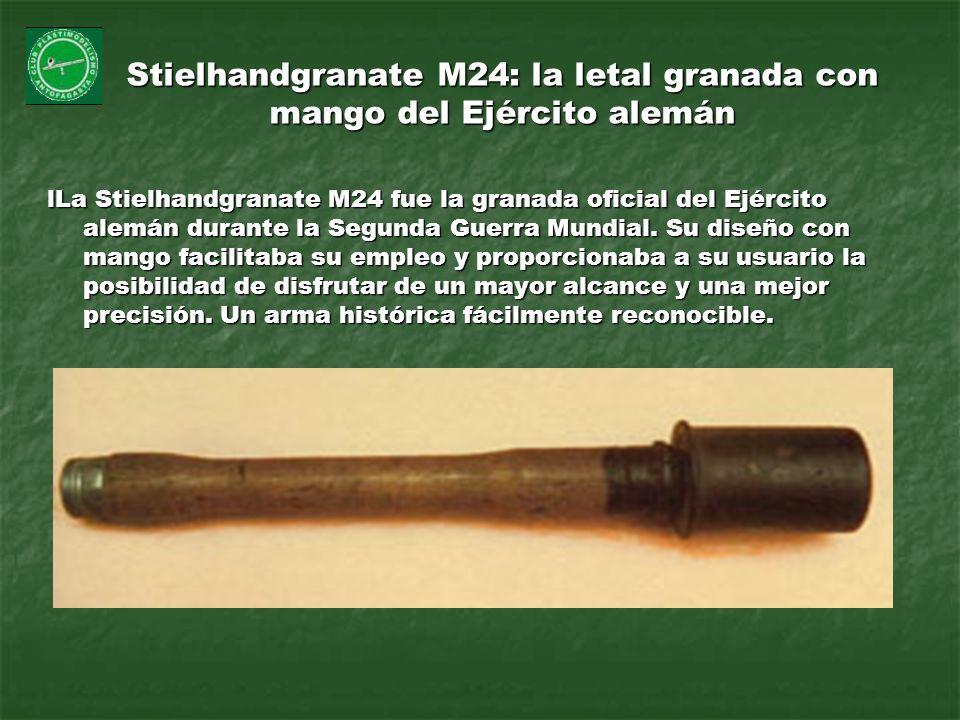 Stielhandgranate M24: la letal granada con mango del Ejército alemán lLa Stielhandgranate M24 fue la granada oficial del Ejército alemán durante la Se