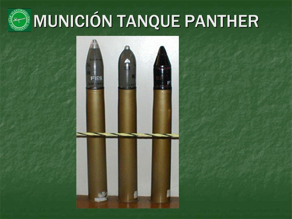 MUNICIÓN TANQUE PANTHER