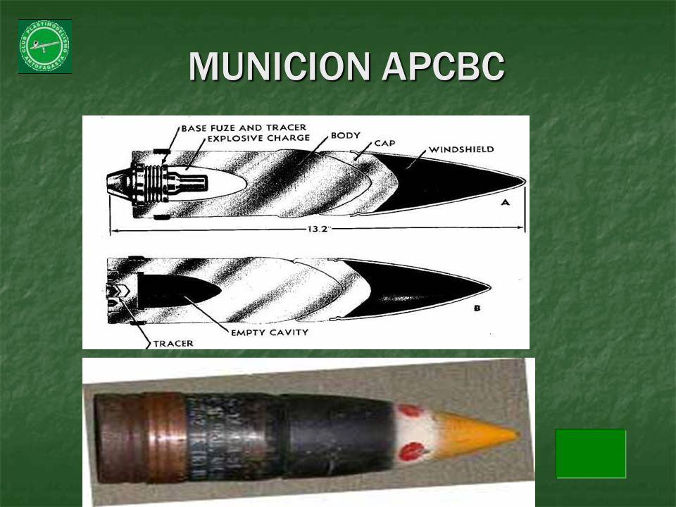 MUNICION APCBC