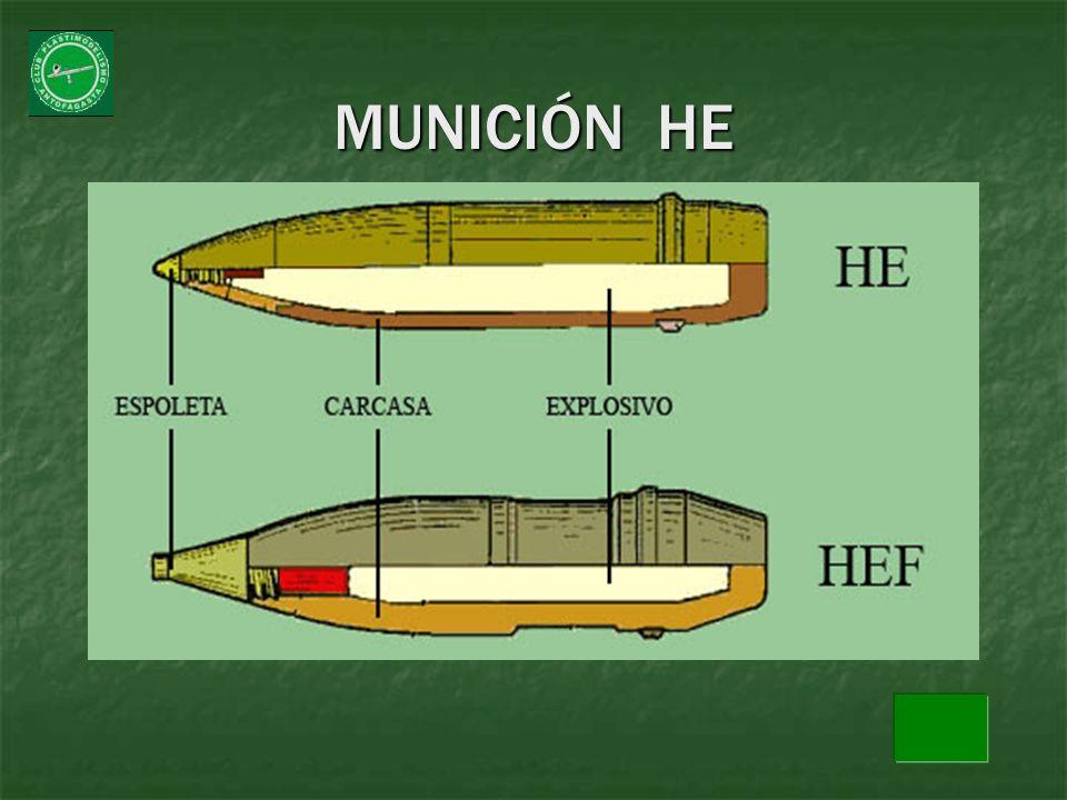 MUNICIÓN HE
