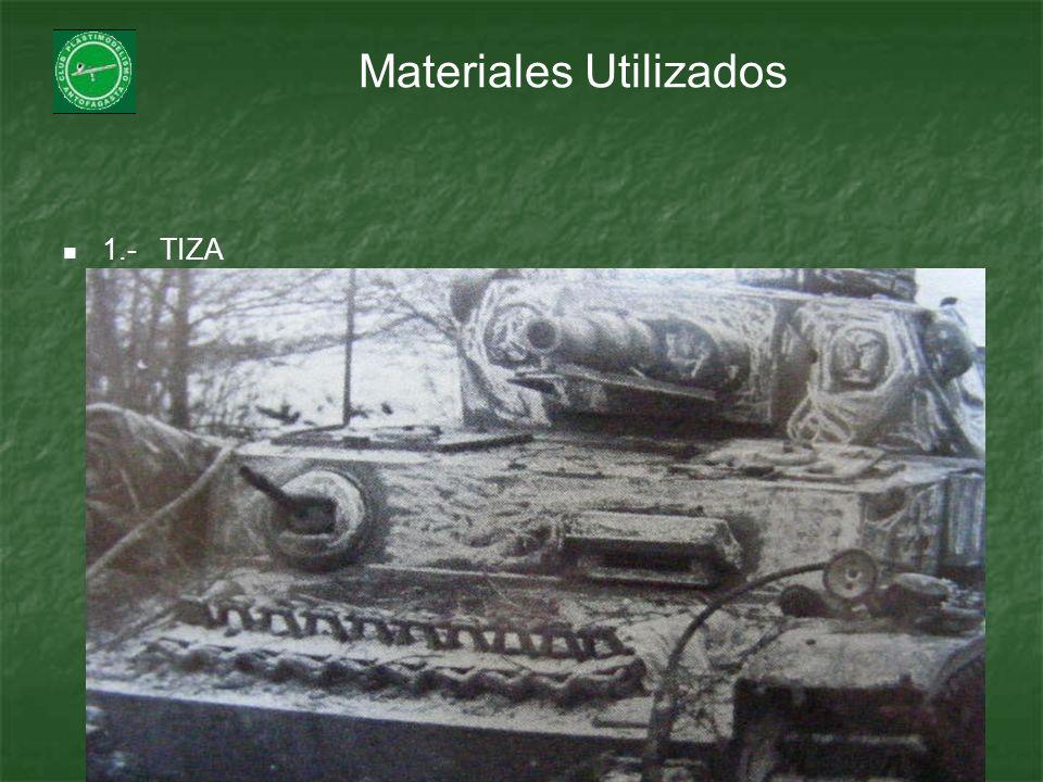 Materiales Utilizados 1.- TIZA